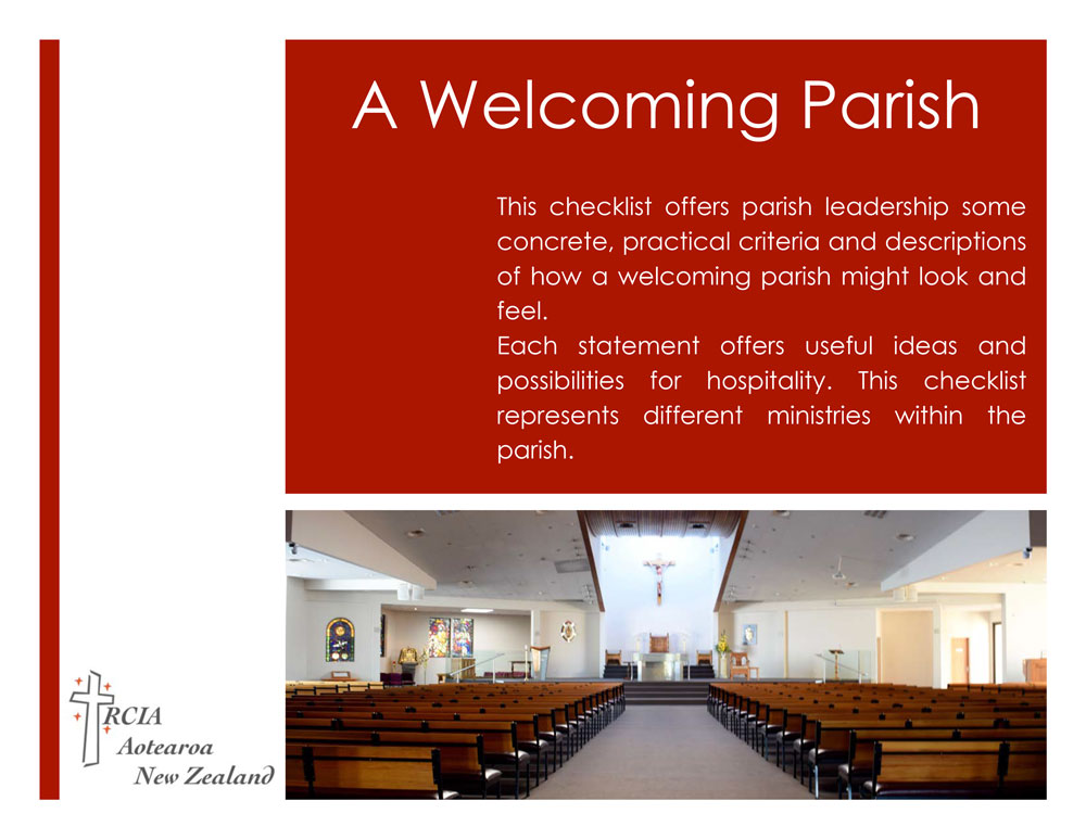 A Welcoming Parish pamphlet cvr