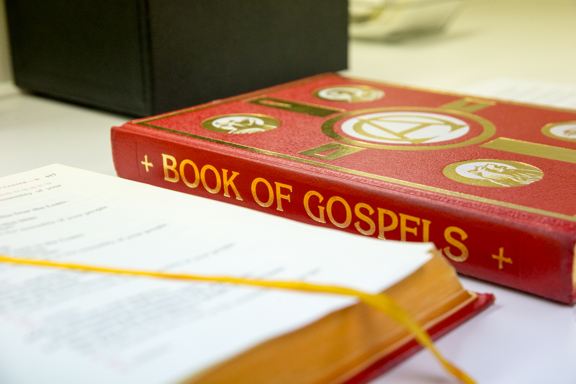 eCatholic stock photo 112 Bk of gospels3